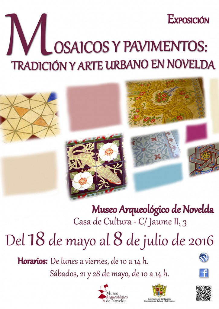 Cartel Expo Mosaicos 2016 BResol