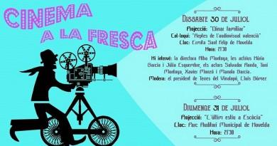La nova edició de Cinema a la fresca sorprén amb dues comèdies atractives