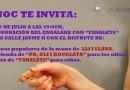 8 Juliol – Inauguració Carrer Jaume II – Casa Cultura