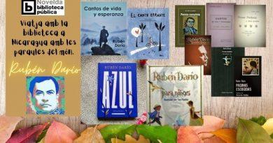 Junt amb les paraules de Rubén Darío