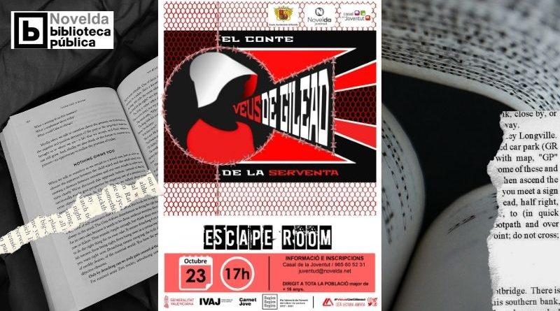 Escape room a la casa de joventut de Novelda