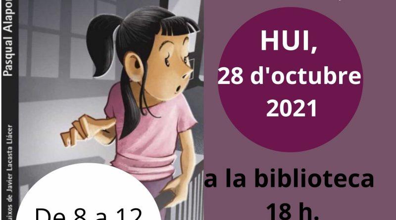 Trobada 28 d'octubre 2021, Club de Lectura en valencià del llibre «Tres colps en la nit»